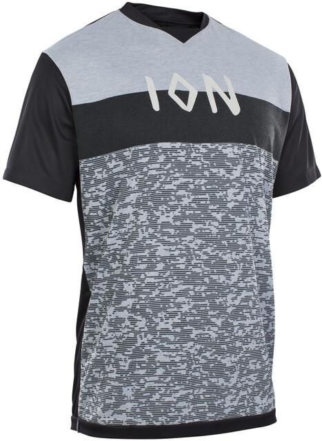 ION Scrub AMP Mesh Camiseta Manga Larga Hombre, black